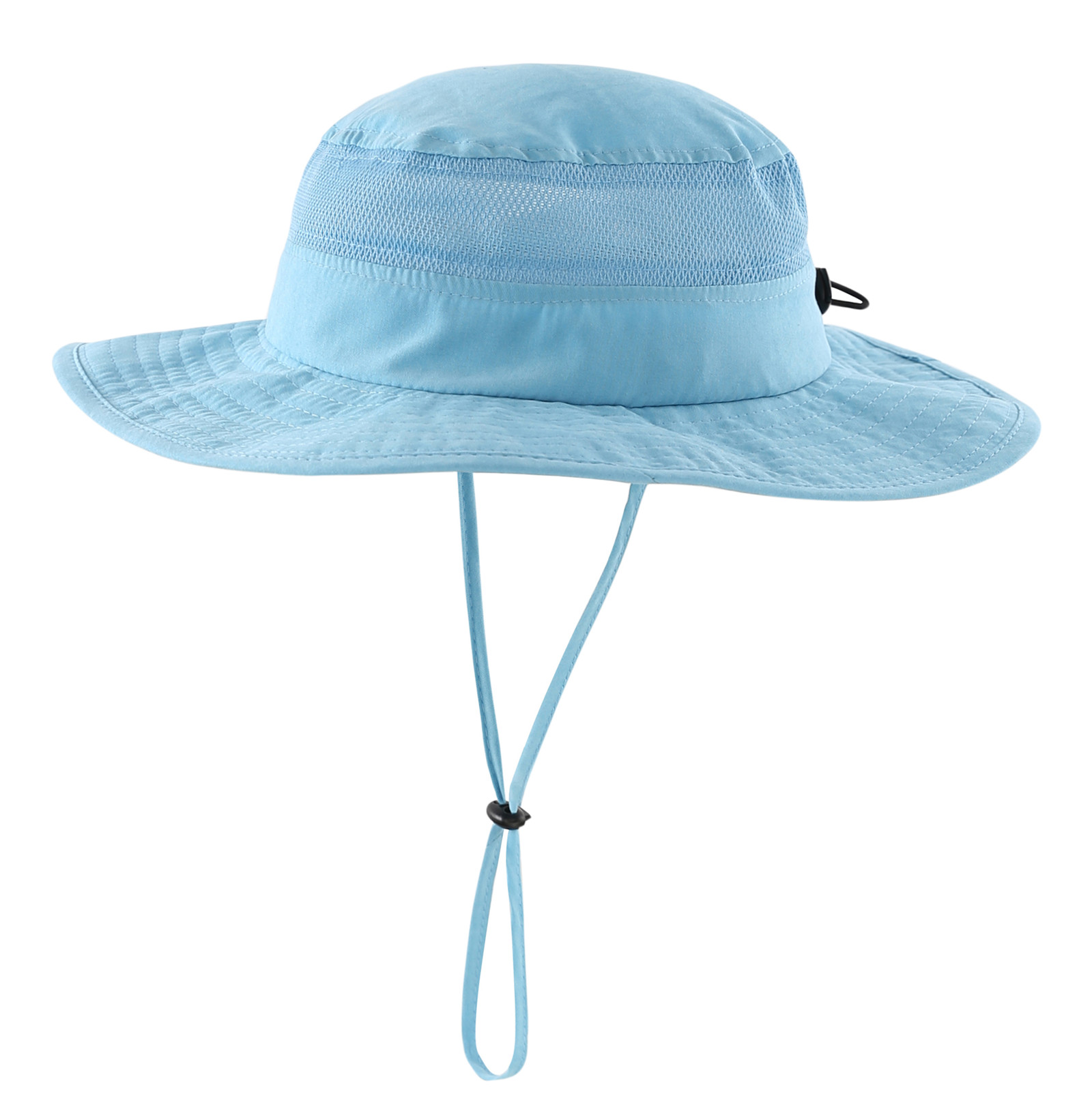 Adjustable with Strap for Baby and Toddler Jan /& Jul Girls Wide Brim UV Protection Sun-Hat