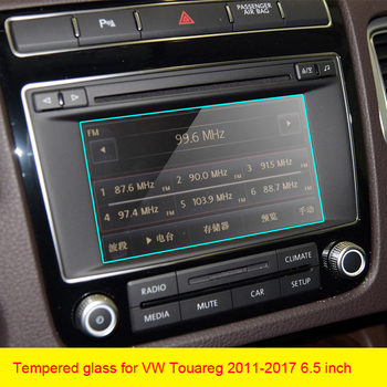 For Volkswagen Touareg 2011-2018 Car GPS navigation film LCD screen Tempered glass protective film Anti-scratch Film 6.5 8 inch image