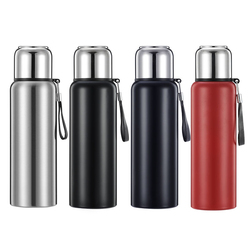 316 Stainless Steel Thermos Pot Insulation Water Kettle Keep Hot For 36 Hours 800ml Large Capacity Portable Thermo Mug thermocup