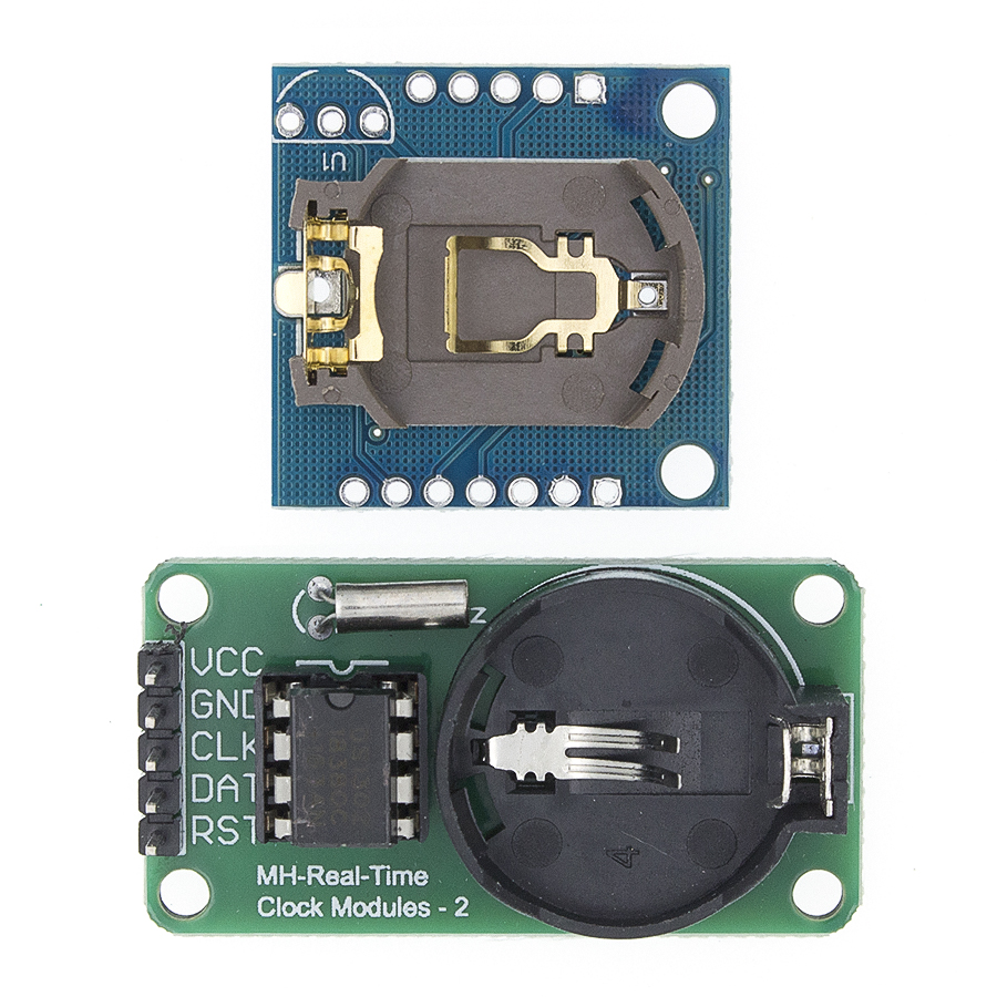 Accurate DS1302 Real Time Clock Module for Arduino DIY 5.5V Blue With Battery
