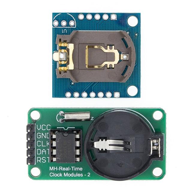 Moduł zegar czasu rzeczywistego DS1302 CR2032 I2C RTC DS1307 AT24C32 moduł zegar czasu rzeczywistego dla AVR ARM PIC bez baterii