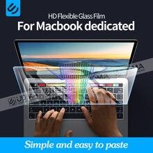 Udma anti-azul para macbook pro ar 13 2020 m1 chip a2337 2338 protetor de tela 13 15 16 2179 2289 1706 2251 filme de vidro flexível