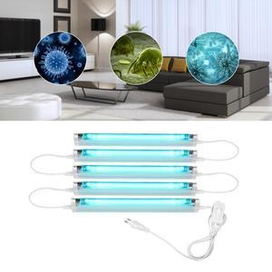 Image 1 - 6W 8W UVC lamp Quartz Germicidal Bactericidal lamp Ultraviolet lamp UV Sterilizer Deodor kill Virus Ozone UV light T5 Tube Bulb