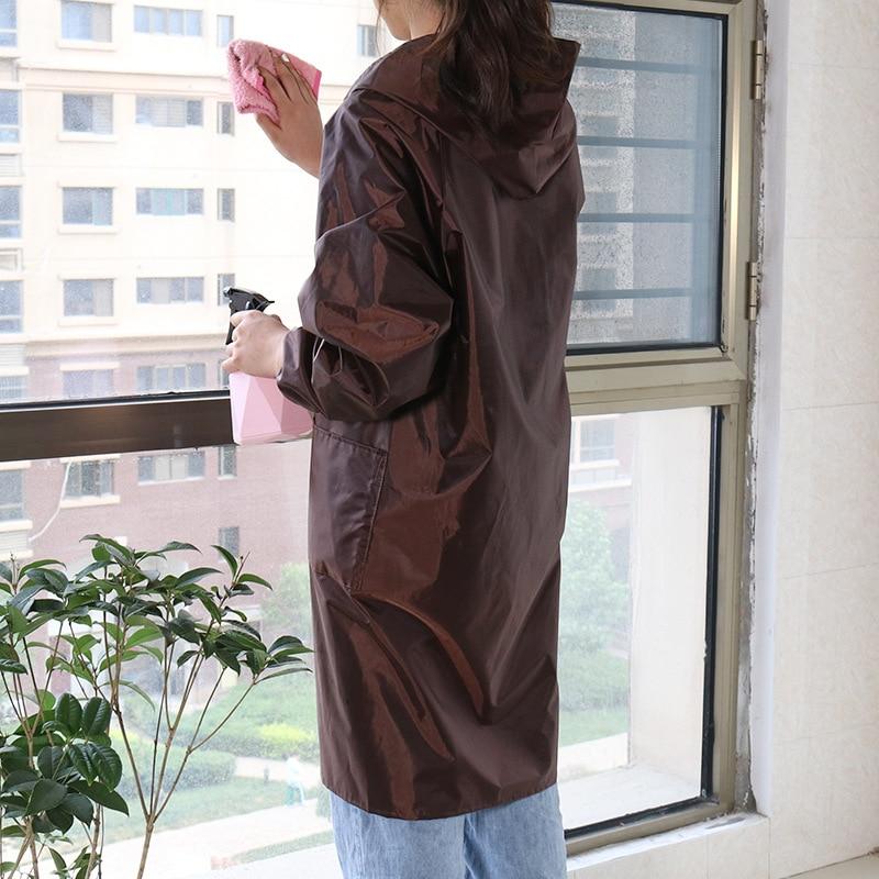 Painted Zipper Apron Waterproof Oil Resistant Volkswagen Oil Painting Work Clothes Women's Men's Protective Clothing Art Student