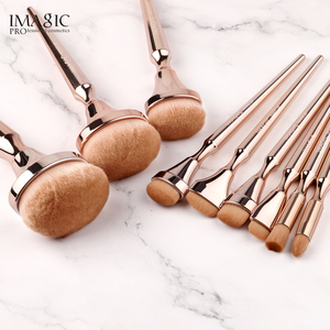 Image 5 - IMAGIC combination set 15 color eyeshadow tray new 9 makeup brush girls beauty cosmetics