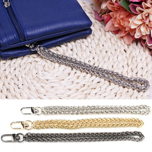 Women New Bag Chain Handle DIY Replacement Wrist  Clutch Purse Coin Bag Strap Metal Chain Gold Black Silver Bags Accessories Hot black glitter clutch bags with chain