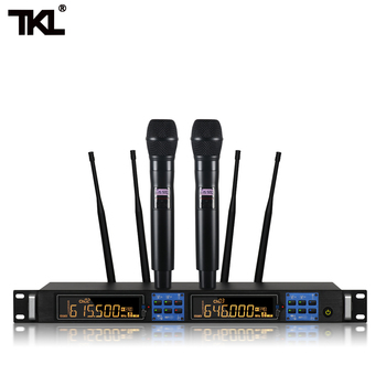 TKL GL-2020 Wireless Handheld Microphones 2channels Headset  professional microphone