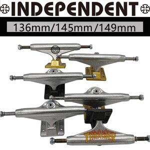 136mm 145mm 149mm independent skateboard trucks good quality aluminum alloy truck carbon steel hollow skate trucks