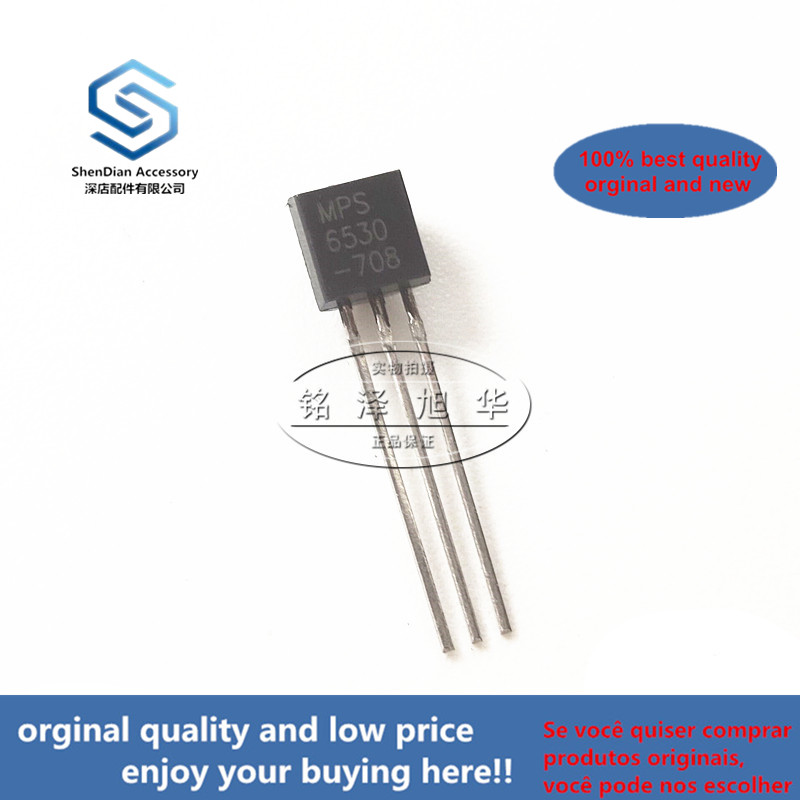 10pcs 100% Orginal New Best Qualtiy MPS6530 6530TO-92 Power Transistor Real Photo