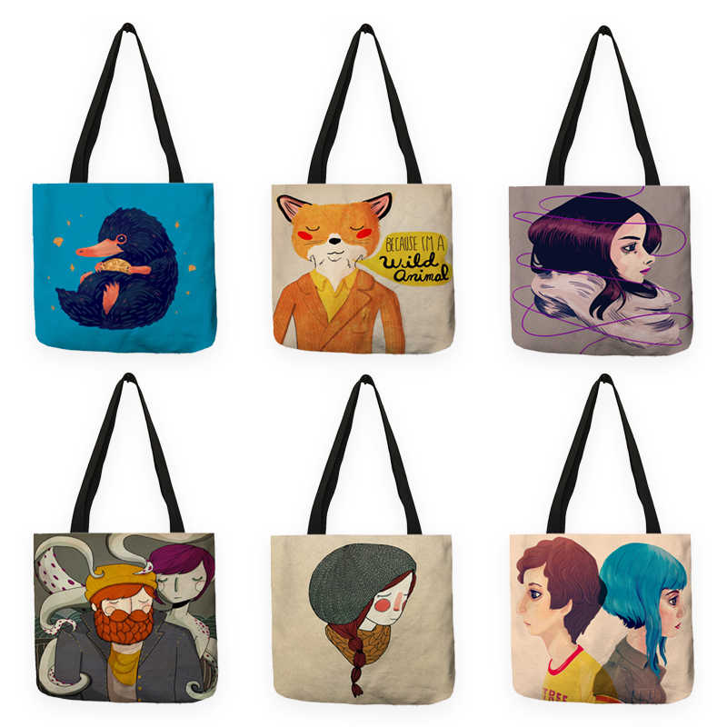 Animal Inbetweening Print Ping Bag