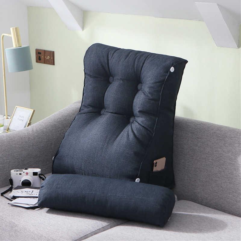 مسند الرأس مخدة كرسي كبير السرير بلون سلسلة هزاز وسادات المقعد مسند الظهر وسادة للسرير Pouf Chambre هدية FK036