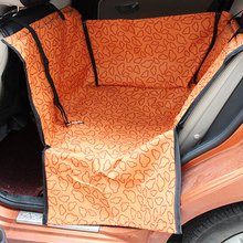 Waterproof Oxford Pet Carriers Car Dog Cat Car Rear Back Seat Carrier Cover Pet Mat Blanket Cover Mat Hammock Cushion Protector pet carriers fabric paw pattern car pet seat cover dog car back seat carrier waterproof pet mat hammock cushion protector