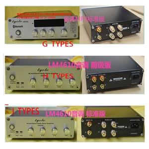 Image 4 - Kyyslb 203*60*169 Millimetri X2006 Completa Mini Telaio in Alluminio Amplificatore Fai da Te Custodia LM4610 Box Tono Preamplificatore Dac telaio Caso Amplificatore