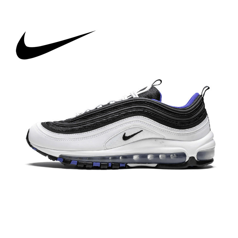 Original Nike Air Max 97 OG Men's Running Shoes Low Top Wear Resistant Fashion Breathable Jogging Sport Outdoor Sneakers 921522