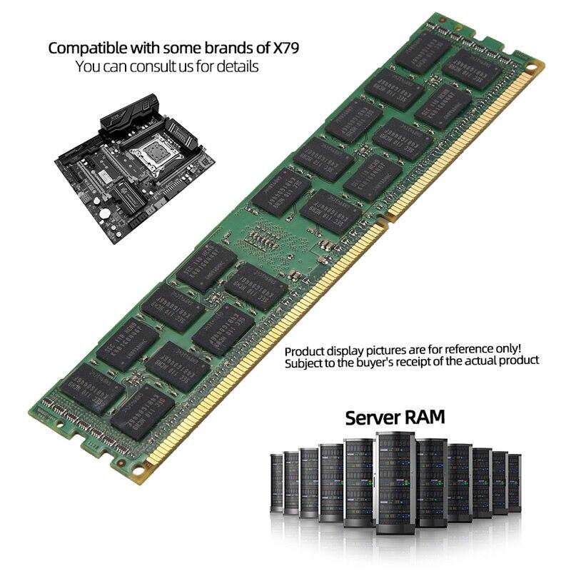4GB DDR3 ecc reg ram PC3 1066Mhz 1333Mhz 1600Mhz 1866Mhz 10600R 12800R 14900R 1866 1600 compatible 16GB 8GB 4