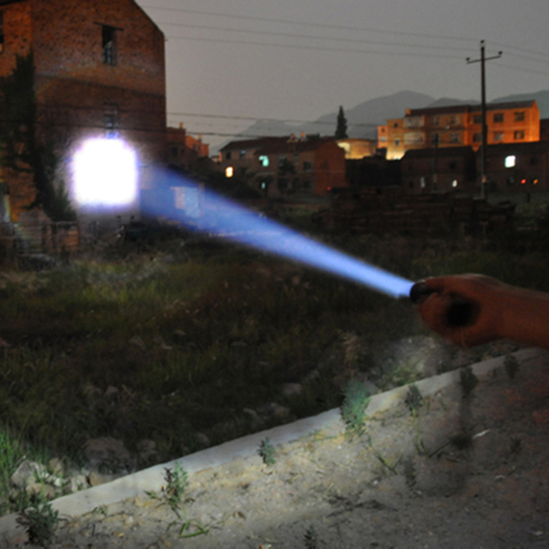 Q5 Mini LED Flashlight Penlight 1000LM Waterproof Torch 3 Modes Zoomable Adjustable Focus Lantern Portable Light Bulbs Litwod