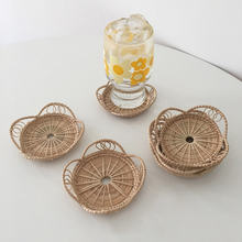 Бамбуковые чашки coaster салфетки для стола кухонные настольные