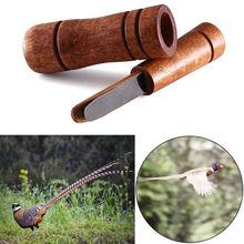 Охотничий Свисток деревянная приманка имитация фазана утка звонок