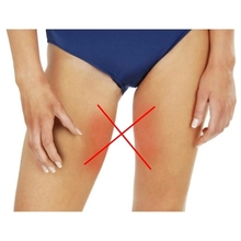 2pcs/1pair Summer inner thigh Anti Chafing Thigh Bands Elastic Non Slip Silcone Women Lace Anti friction strip 7 size dropship