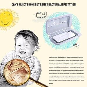 Image 2 - UV Sterilizer Box Portable Mask UV Sterilizer Disinfectant box Cabinet Gloves Cleaner Mobile Double Ultraviolet Phone box
