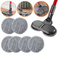 For Dyson Electric Mopping Vacuum Brush And Cleaner Cleaning Cloth For Dyson V7 V8 V10 V11 Replaceable Parts With 6pcs Mop Cloth