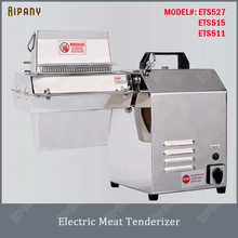ETS527/MTS527 electric/manual meat tenderizer bladed meat tenderizer stainless steel commercial meat tenderizer machine best price electric grill pan stainless steel roaster fried meat pancake making machine for home commercial use