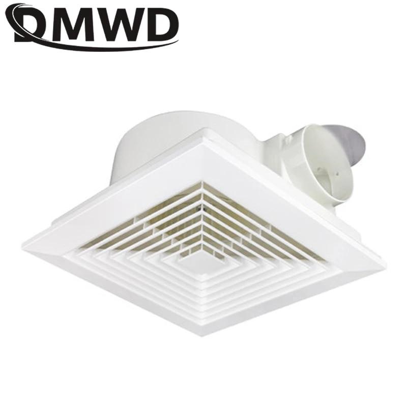 dmwd suspended ceiling exhaust fan 8 inch living room bathroom ventilator louver window air ventilation exhaust fans eu us