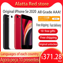 Echte Original entsperrt Apple iPhone Se 2020 128gb verwendet Globale version A13 iphone se2 handy Gesicht ID Mobile smartphone