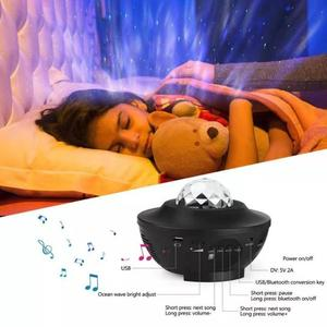 Image 5 - Colorful Starry Sky Projector Blueteeth USB Voice Control Music Player LED Night Light USB Charging Projection Lamp Kids Gift