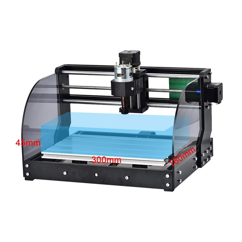 Gravador a laser cnc max, atualização 3018 pro offline grbl diy 3 eixos pbc máquina de gravação roteador de madeira