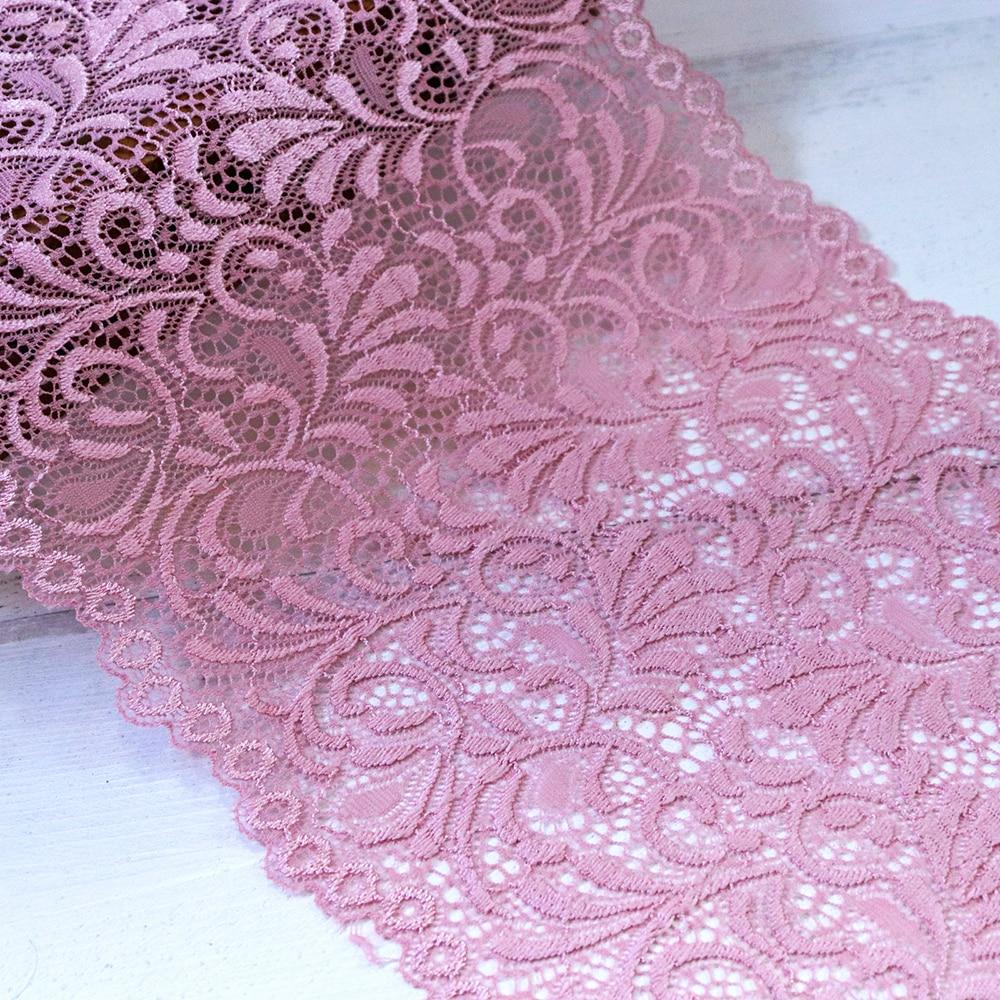 1yard Spandex Elastic Lace Trim Decorations Ribbon Sew Edging for Wedding Bridal