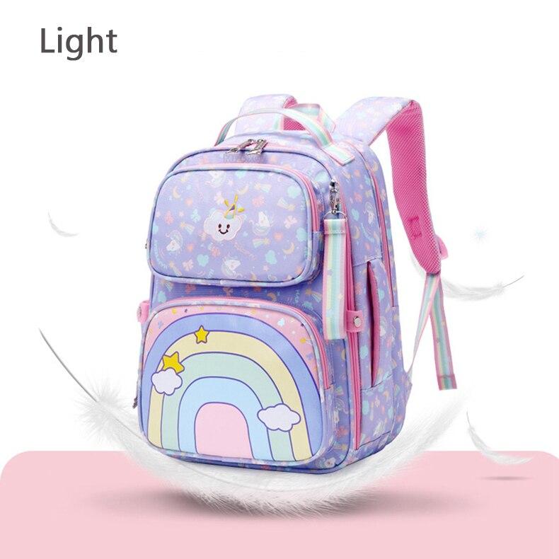 escola para meninas doce princesa bonito impressão bagpack