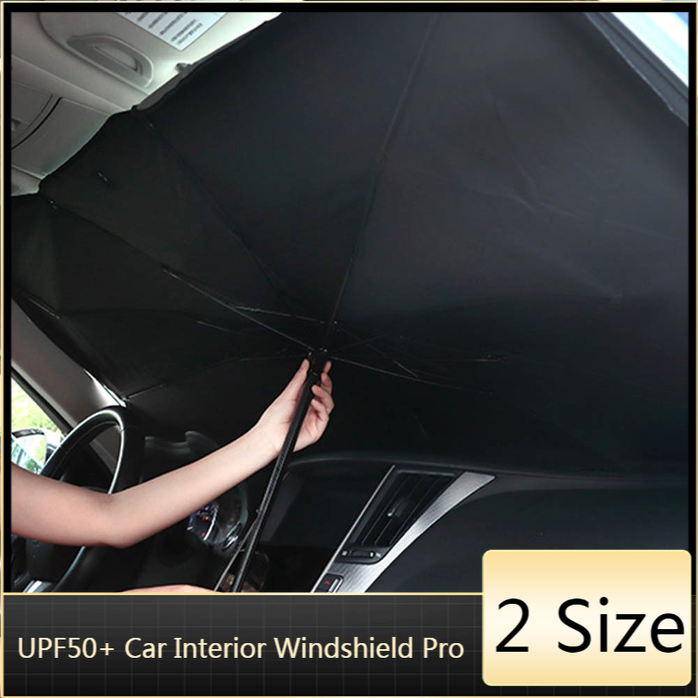 Car Sunshade Interior Front Window Umbrella Parasol Cover Protector Sunscreen Heat Insulation Windshield Protection Accessories