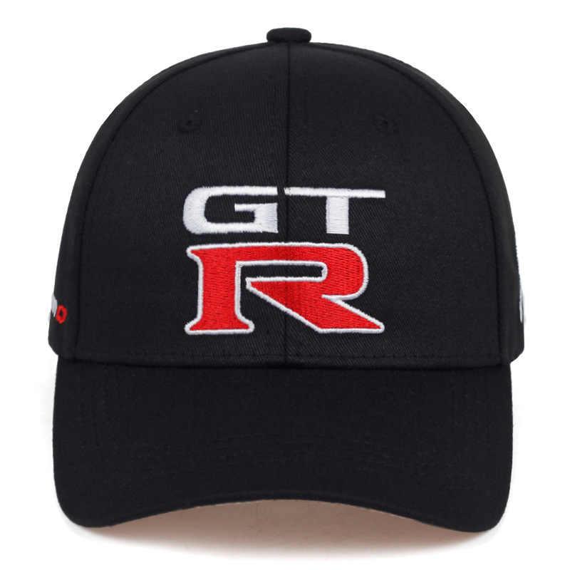 2019 yeni Nissan GTR yarış kap spor motosiklet beyzbol kapaklar GTR kavisli hip hop şapka moda açık ayarlanabilir baba şapka
