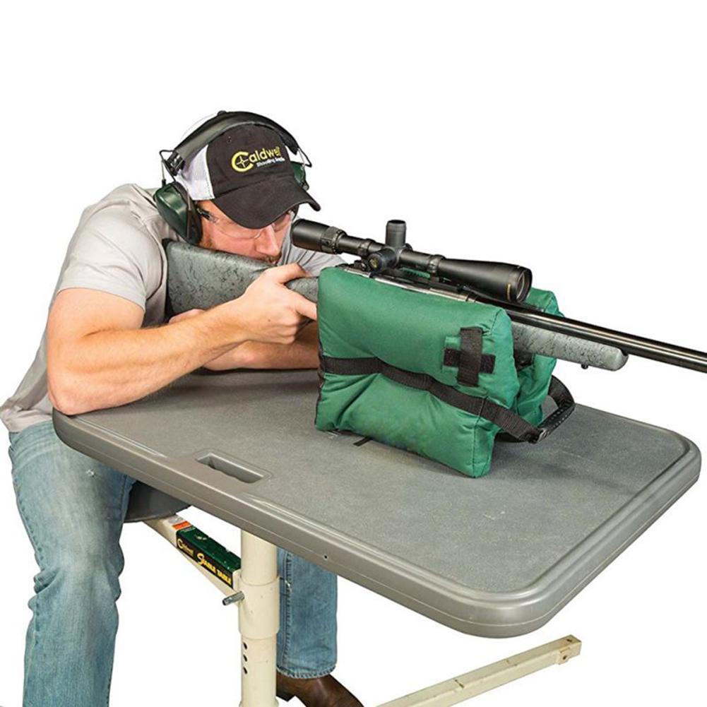 Sniper Shooting Bag Gun Front Rear Bag Target Stand Rifle Support Sandbag Bench Unfilled Outdoor Tack Driver Hunting Rifle Rest