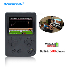 ANBERNIC Handheld Game Console Retro FC Plus 500 Classic Family TV Video Games Mini Portable 8Bit Game Player Kids Gift &Gamepad