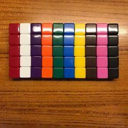 10 pçs 16mm dados em branco ktv dice paintless plain gravável diy poker jogo de tabuleiro de xadrez dados de ensino 10 cores
