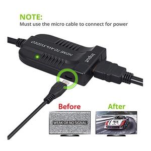 Image 5 - HDMI To AV S Videoอะแดปเตอร์HDMIอินพุตS Video AV CVBS Output Video Converter