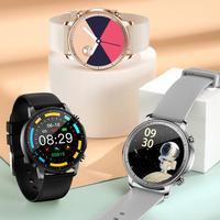 Reloj inteligente V23 con pantalla táctil, dispositivo resistente al agua IP67, control del ritmo cardíaco y del sueño en sangre, reloj deportivo inteligente para IOS y Android