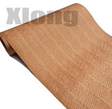 1Piece  L:2.5Meters Width:60cm Red Shadow Wood Bark Veneer (Back Kraft Paper)