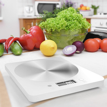 Practical Electronic Food Scales Diet Measuring Tool Multi-functional Durable High-precision Weighing Scale