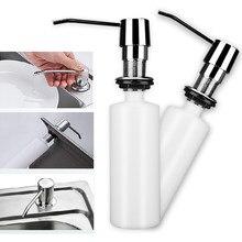 Dozownik mydła kuchennego zlew butelka z mydłem w płynie łazienka Detergent w płynie mydło do rąk dozownik pompy 300ml