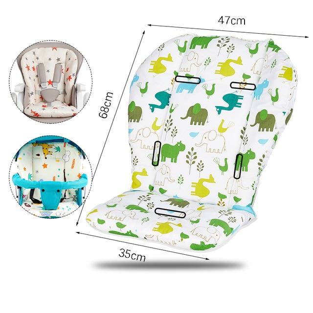 Baby Stroller Accessories Seat Cushion Child Pushchair Pad Newborn Pram Carriages Cart Soft Cushion Toddler Infant Car Seat Mat