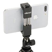 W magazynie w rosji ULANZI uniwersalny uchwyt na telefon stojak klip adapter do montażu na statywie na iPhone smartfon z androidem