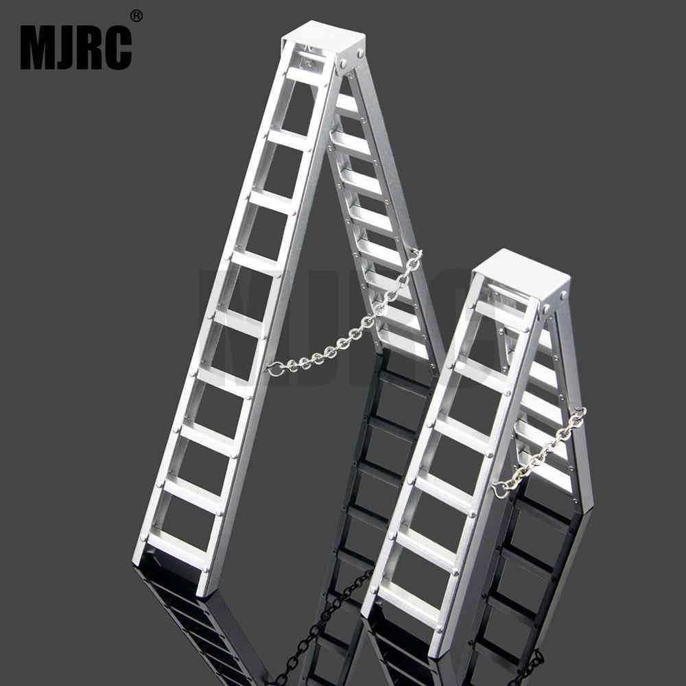 1/10 Scale RC Crawler อุปกรณ์เสริมอลูมิเนียม Herringbone บันไดเครื่องมือสำหรับ Traxxas TRX4 RC4WD Axial SCX10 CC01 D90 D110 รถ
