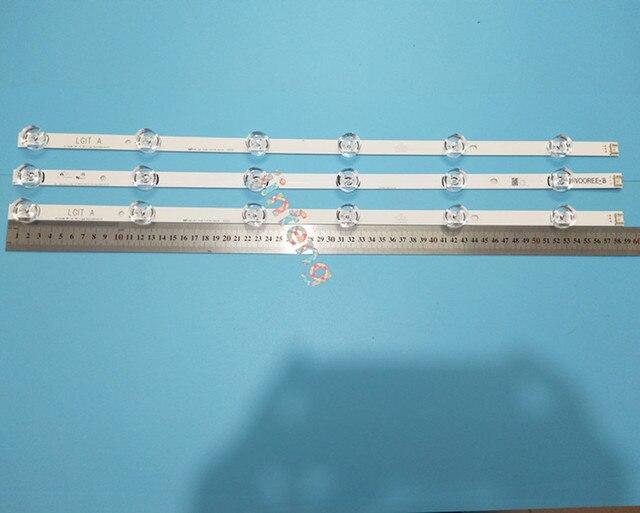 10 Bộ = 30 Chiếc Dây Đèn LED Dành Cho LG 32LB 32LF5800 32LB5610 32LB LGIT Một B UOT Một B Innotek DRT 3.0 32 6916l 1974A 1975A 6916l 2223A 2224A