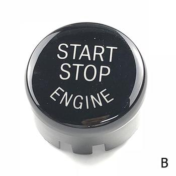 Car Start Stop Engine Push Switch Buttons Trim For BMW F30 X3 X1 Keyless Shell Cover Button F10 F34 F48 X5 F25 Start X4 Cas E9C8 image