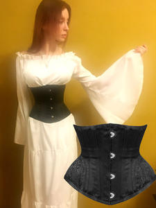 Underbust Corset Lingerie Waist-Cincher Slimming-Belt Steampunk Workout-Shape Body Sexy