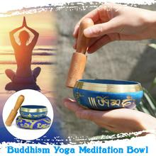 цена на RASABOX - Tibetan Singing Bowl Set — Meditation Sound Bowl Handcrafted in Nepal for Healing and Mindfulness