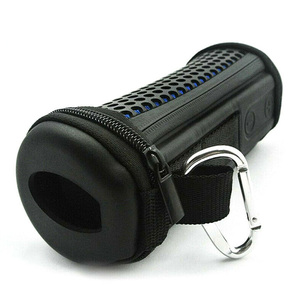 Image 3 - Bike Mounted Protective Practical Outdoor With Strap Portable Pillar shaped Speaker Case Hollowed Out Storage  Flip1 2 3